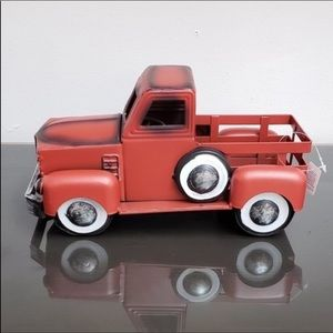 NWT Red Metal Truck